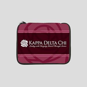 "Kappa Delta Chi Logo 13"" Laptop Sleeve"