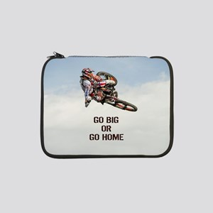 "Motocross Rider 13"" Laptop Sleeve"