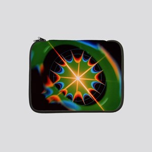 """Magnetic field of superconductin 13"""" Laptop Sleeve"""