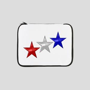 """Three Shiny Stars 13"""" Laptop Sleeve"""