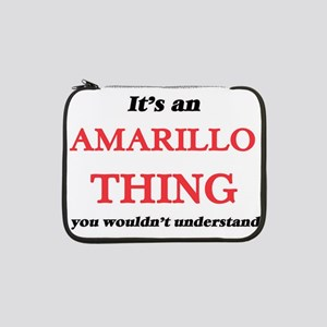 "It's an Amarillo Texas thing 13"" Laptop Sleeve"