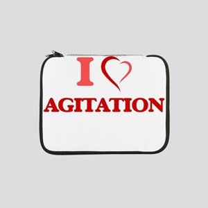"I Love Agitation 13"" Laptop Sleeve"
