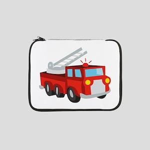 "Fire Truck 13"" Laptop Sleeve"