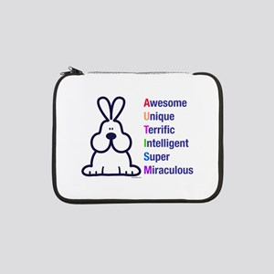 "Autism 317 front 13"" Laptop Sleeve"