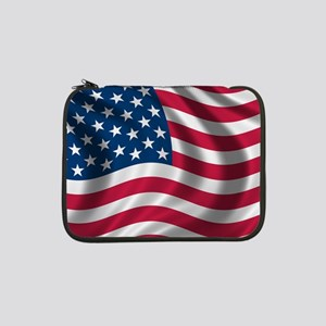"USA Flag 13"" Laptop Sleeve"