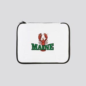 "green maine lobster 13"" Laptop Sleeve"