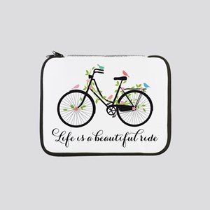 """Life is a beautiful ride 13"""" Laptop Sleeve"""
