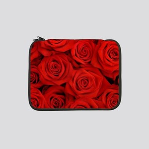 """Red Roses 13"""" Laptop Sleeve"""