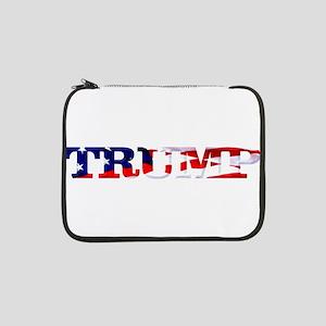 "Trump - American Flag 13"" Laptop Sleeve"