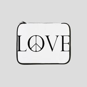 """LovePeaceII 13"""" Laptop Sleeve"""
