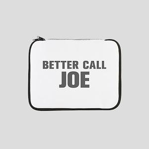 "BETTER CALL JOE-Akz gray 500 13"" Laptop Sleeve"