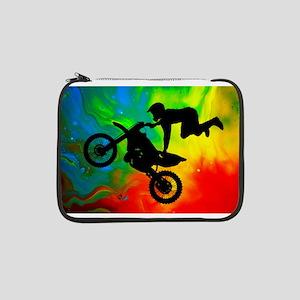 "Solar Flare Up Motocross 13"" Laptop Sleeve"