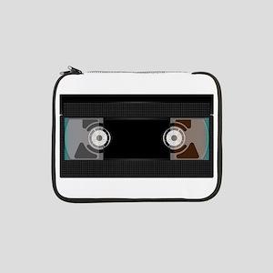"Black Video Cassette 13"" Laptop Sleeve"