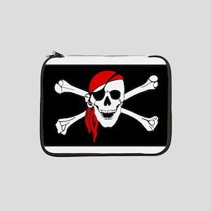"Pirate flag 13"" Laptop Sleeve"