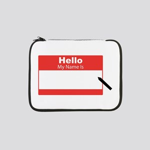 """My Name Is 13"""" Laptop Sleeve"""