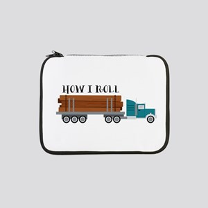 "How I Roll 13"" Laptop Sleeve"