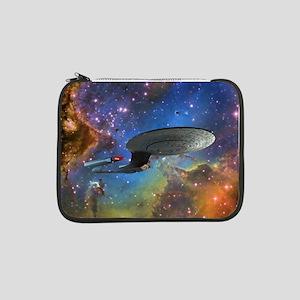 "STARTREK 1701D EAGLE NEBULA 13"" Laptop Sleeve"