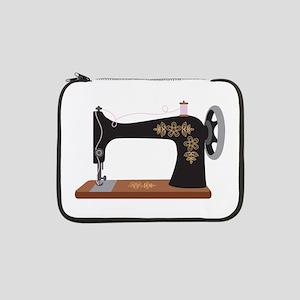 "Sewing Machine 1 13"" Laptop Sleeve"