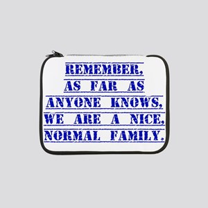 """Remember As Far As Anyone Knows 13"""" Laptop Sleeve"""