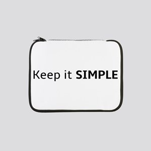 """Keep it SIMPLE 13"""" Laptop Sleeve"""