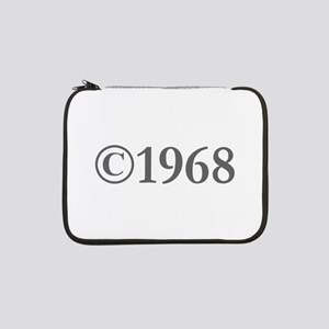 "Copyright 1968-Gar gray 13"" Laptop Sleeve"