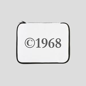 "Copyright 1968-Gar gray 13"" Laptop Sleeve"