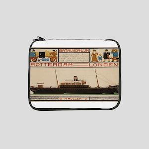 "Vintage poster - Rotterdam - Lon 13"" Laptop Sleeve"