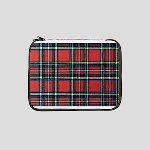 """Royal Stewart Tartan2 13"""" Laptop Sleeve"""