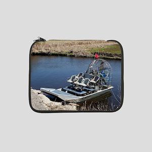 "Florida swamp airboat 2 13"" Laptop Sleeve"