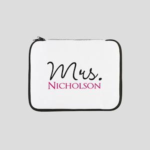 "Customizable Name Mrs 13"" Laptop Sleeve"