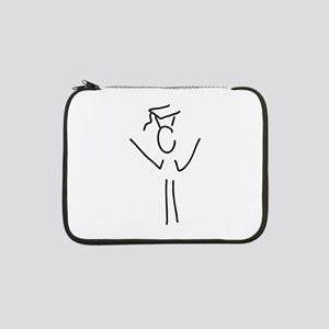 "happy about ph D 13"" Laptop Sleeve"
