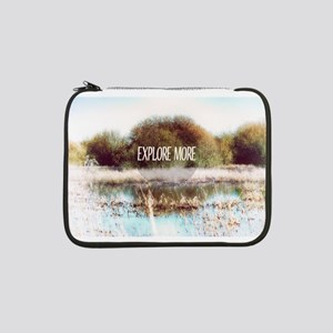 "Explore More wilderness 13"" Laptop Sleeve"