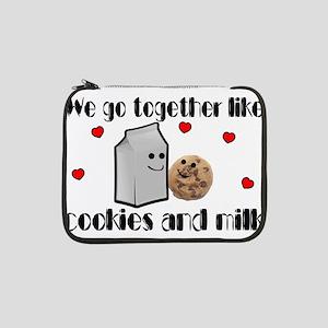 "Cookies And Milk 13"" Laptop Sleeve"