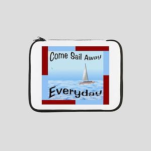 """Sail Away 13"""" Laptop Sleeve"""