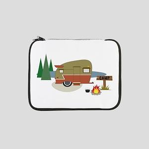 "Camping Trailer 13"" Laptop Sleeve"