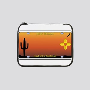 "New Mexico License Plate 13"" Laptop Sleeve"