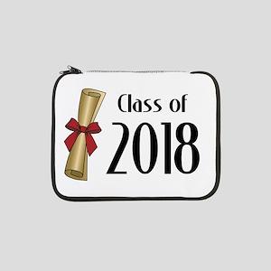 """Class of 2018 Diploma 13"""" Laptop Sleeve"""