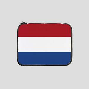 """Flag: Netherland 13"""" Laptop Sleeve"""