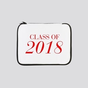 """CLASS OF 2018-Bau red 501 13"""" Laptop Sleeve"""