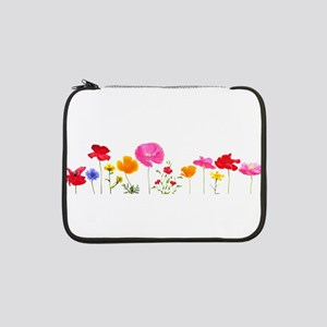 "wild meadow flowers 13"" Laptop Sleeve"