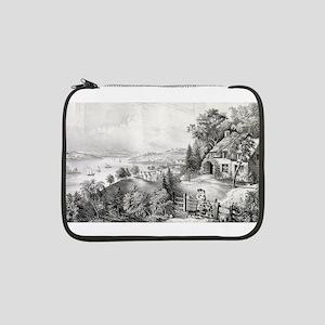 """Nova Scotia scenery - 1868 13"""" Laptop Sleeve"""