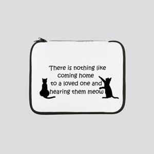 """Coming Home to aCat 13"""" Laptop Sleeve"""