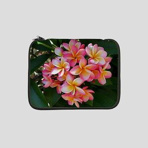 """Hawaiian Plumeria 13"""" Laptop Sleeve"""