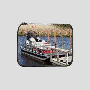 "Florida swamp airboat 13"" Laptop Sleeve"