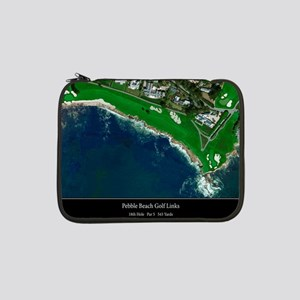 "Pebble Beach 18th Hole 13"" Laptop Sleeve"