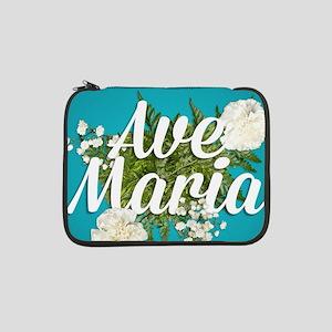 "Ave Maria 13"" Laptop Sleeve"