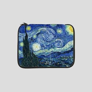 "Van Gogh Starry Night 13"" Laptop Sleeve"
