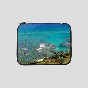"View from Diamond Head, Hawaii 13"" Laptop Sleeve"