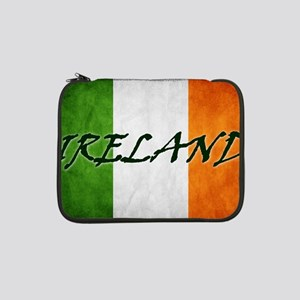 "irish_flag_banner_4w 13"" Laptop Sleeve"