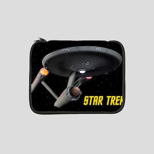 "USS Enterprise High Resolution 13"" Laptop Sleeve"